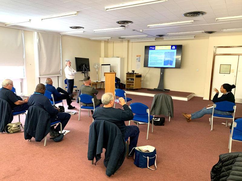 Golden Thread Fire Delay's Fire Door Training Module launch at Lewisham Hospital